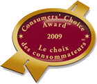 GBLS Consumers' Choice Award 2009